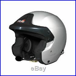 Stilo Trophy DES Rally Hans Open Face Helmet (Snell / FIA) Genuine XL
