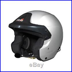 Stilo Trophy Des RALLY Open Face Helmet Hans FIA Genuine XL