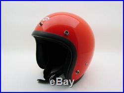 TOP ORIGINAL VINTAGE BELL MAGNUM II 2 Motorcycle JET OPEN FACE HELMET Classic