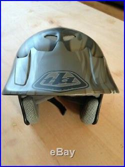 Troy Lee Designs D2 Carbon Helmet open face MD/LG