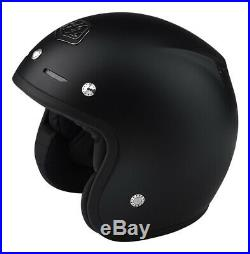 Troy Lee Designs Open Face Classic Helmet-black-medium