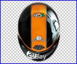 Troy Lee Designs Open Face Helmet McQueen Black-Medium