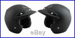 Troy Lee Designs Open Face Helmet Midnight-Small