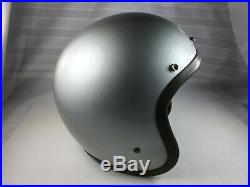 VINTAGE 1962 BELL TOPTEX MOTORCYCLE HELMET SIZE 7 1/2 SNELL Open Face NEAR MINT
