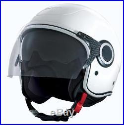 Vespa VJ Helmet White Open Face Scooter Helmet Size Medium