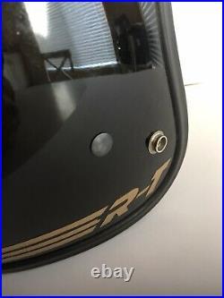 Vintage 80s Bell R-T Open Face Motorcycle Bike Helmet Black 7 1/8 57 Cm RT