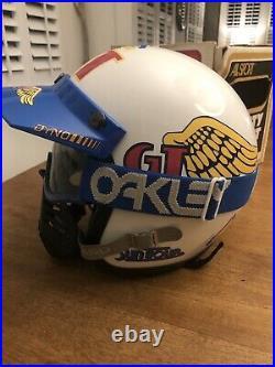 Vintage ALLSPORT Open Face Moto Helmet GT Bmx