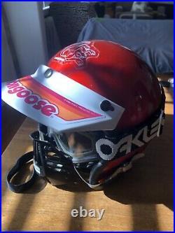 Vintage ALLSPORT Open Face Moto Helmet Mongoose BMX