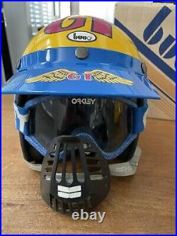 Vintage BUCO Open Face Moto Helmet GT BMX