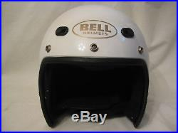 Vintage Bell Helmet SPIRIT Large open face excellent motorcycle head protection