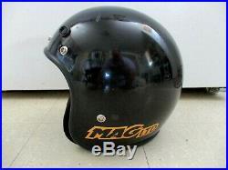 Vintage Bell Magnum MAG LTD Open Face Motorcycle Helmet 7 1/4 (58cm) Mens Medium