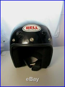 Vintage Bell Magnum Mag LTD Open Face Motorcycle Helmet Mens Medium