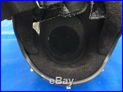 Vintage Bell Polaris Open Face Checkered Flag Snowmobile Motorcycle Helmet NICE