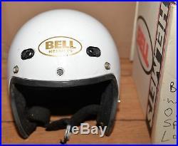 Vintage Bell Spirit Helmet open face collectible Large L box sticker instruction