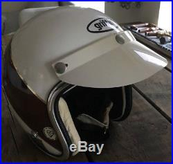 Vintage Griffin Open Face Scooter Moped Motorcycle Crash Helmet Mods