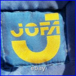 Vintage Jofa BMX Motocross DG Open Face Large Racing Helmet 1979 Visor Yellow