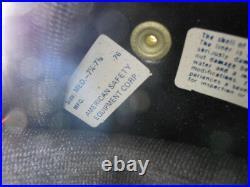 Vintage NOS Buco Size Medium Poly Yellow Open Face 5 Snap Racing Helmet 1828-2