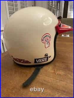 Vintage Open Face Moto Helmet MONGOOSE BMX