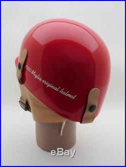 Vintage Original Official Mille Miglia Racing OPEN FACE HELMET CLASSIC CAR RACER