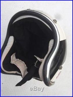 Vintage Retro Griffin Open Face Scooter Motorcycle Crash Helmet