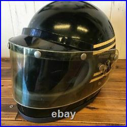 YAMAHA Motorcycle helmet delinquent Size M/L Open Face Vtg 80's Vintage F/S
