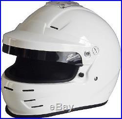 ZAMP RZ-35 Rally SA2015 Auto Racing Helmet Open / Full Face Visor HANS Snell