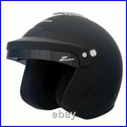 Zamp H75003FL RZ-16H Open Face Helmet Snell SA2015, Matte Black, Large NEW